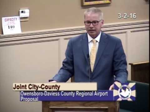 Joint City-County Meeting - Airport Presentation
