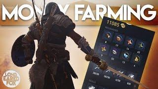 Assassin's Creed Origins | HOW TO MAKE LOTS OF MONEY FAST! - AC Origins Tips & Tricks