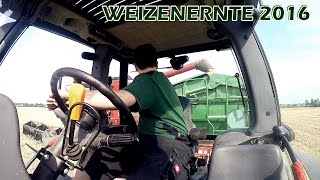 gopro   weizenernte 2016 mit case ih axialflow 2388 cabview deutz new holland