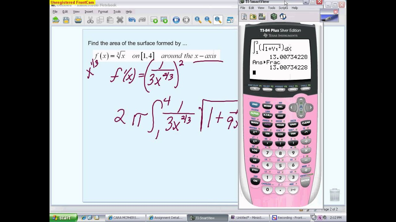 Ap Calculus: Arc Length And Surface Area