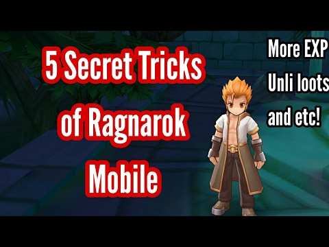 Ragnarok Mobile: 5 Secret Tricks you should know by now!