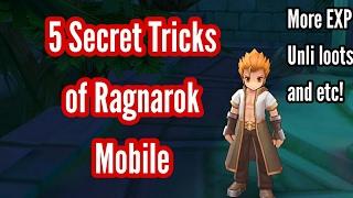 Ragnarok Mobile: 5 Secret Tricks you should know by now!