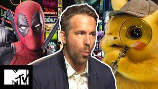 Ryan Reynolds on Detective Pikachu vs Deadpool vs X-Force | MTV Movies