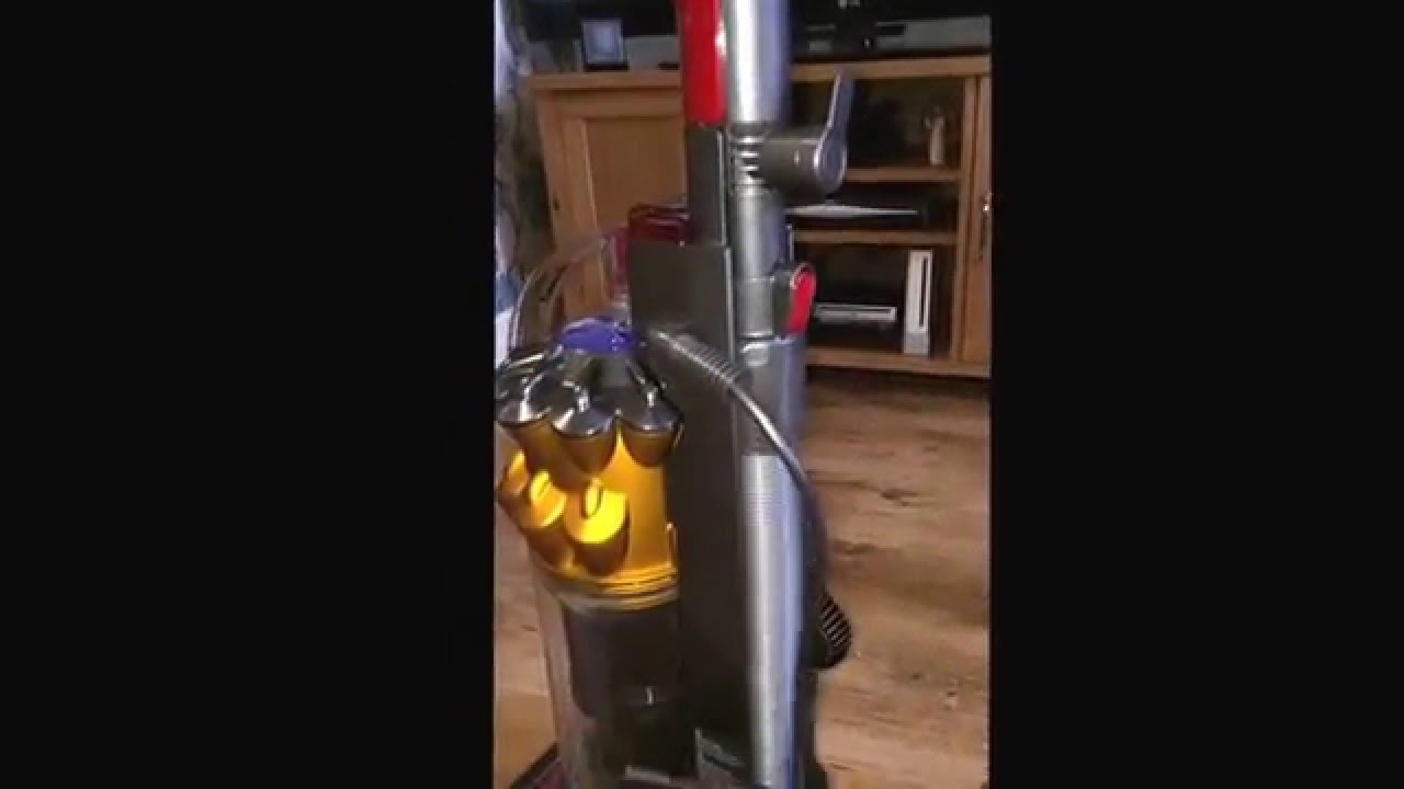 dyson small ball multifloor bagless upright vacuum cleaner review
