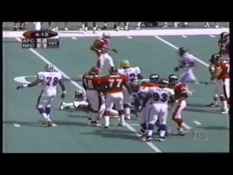 1999 NFL Pro Bowl   Footage From The 1st Quarter