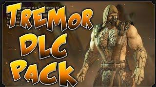 Mortal Kombat X - TREMOR DLC PACK DETAILS & TREMOR FATALITY TEASER!