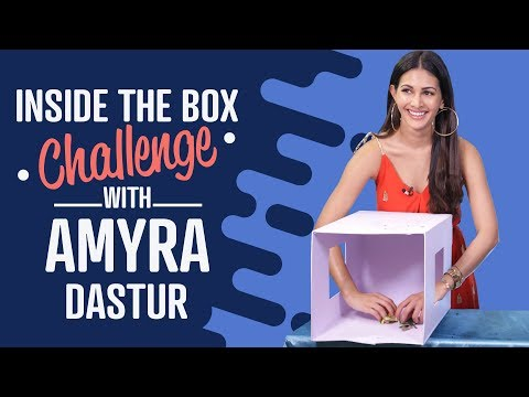 Amyra Dastur: Inside the Box Challenge | Bollywood | Pinkvilla | Lifestyle | Fashion