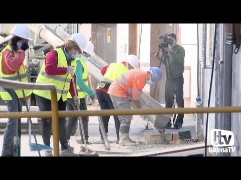 VÍDEO: Avanzan a buen ritmo las obras que se ejecutan en un nuevo tramo de la calle Álamos