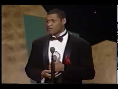 Laurence Fishburne Wins 1992 Tony Award For Best Featured Actor In A Play