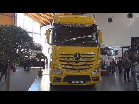 Mercedes-Benz Actros 1851 4x2 Tractor Truck (2016) Exterior And Interior