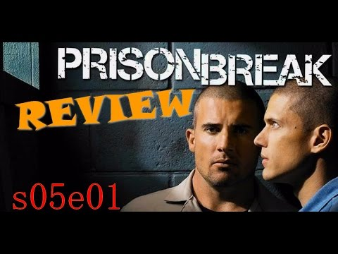 prison break saison 5 episode 1 review un lavage de cerveau youtube. Black Bedroom Furniture Sets. Home Design Ideas