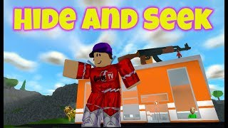 Hide and Seek Roblox Mad City to Win FNAF 6 Plushy Give-a-Way