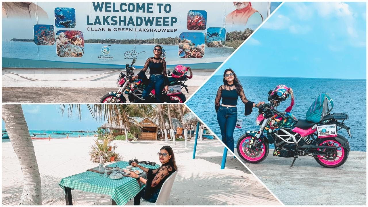 HOW DID I TRAVEL SOLO TO LAKSHADWEEP ISLANDS? CROSSING THE ARABIAN SEA ALONG WITH MY MOTORCYCLE!