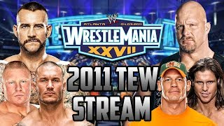 WRESTLEMANIA! | Booking WWE Wrestlemania 27 (Total Extreme Wrestling)