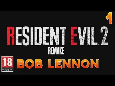 MA PREMIERE JOURNÉE DE BOULOT !!! -Resident Evil 2 : Remake- avec Bob Lennon