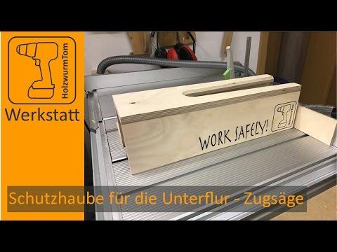 WORK SAFELY - Schutzhaube für die Unterflur Zugsäge Festool CS50 - (english subtitle)