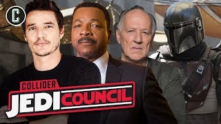 Pedro Pascal, Carl Weathers, Werner Herzog Confirmed for The Mandalorian - Jedi Council