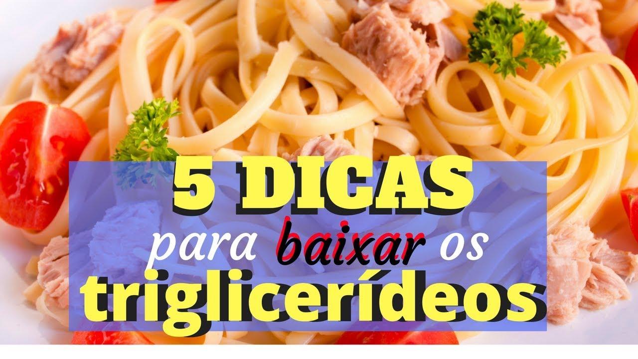 dieta para abaixar o colesterol e triglicerídeos