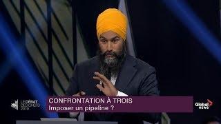 Leaders' Debate: Singh calls Bernier, Scheer