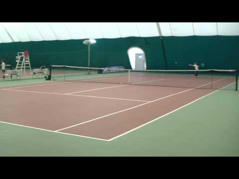 Oktober 25, 2012 Belgorod Tennis Eliseev Alexandr vs Kozlov Nikita 2(2) HDV.MP4