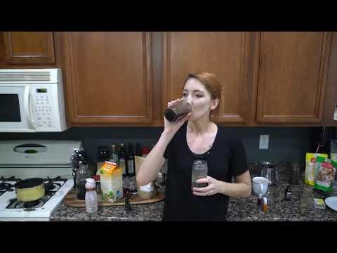 Блэк Латте ☕ Приготовление Black Latte