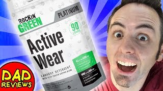 BEST LAUNDRY DETERGENT | Rockin Green Detergent Active Wear Unboxing & First Look Review