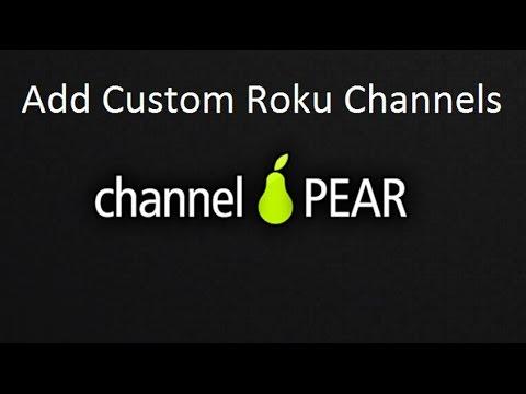 Channel PEAR For Roku Setup Add Live TV To Roku