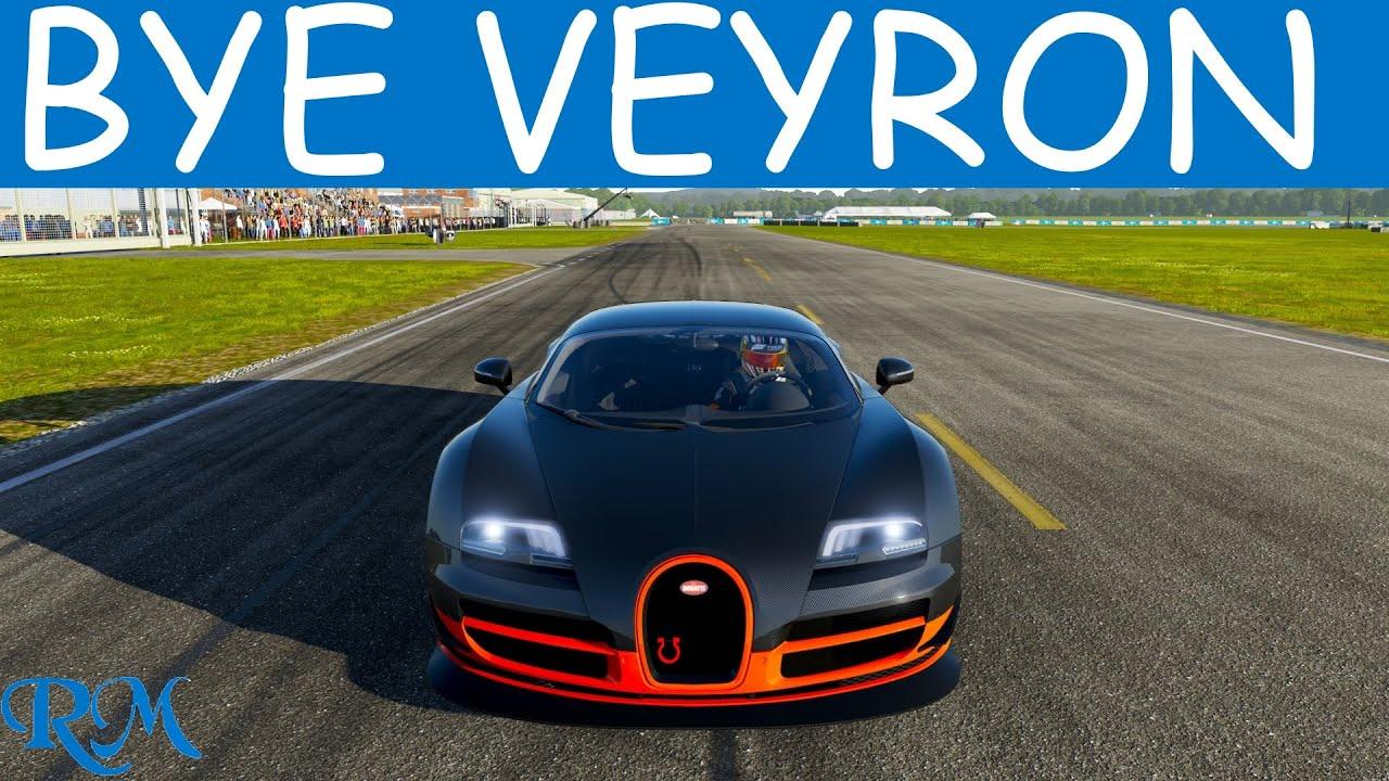 forza 6 - 2011 bugatti veyron top speed - youtube