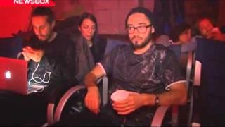 Группа ВИА Гра - Интервью со съемок клипа Кислород ( NEWSBOX, эфир 27 ноября 2014 )
