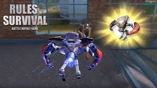 HOW TO PLAY AS A DROID IN RULES OF SURVIVAL!