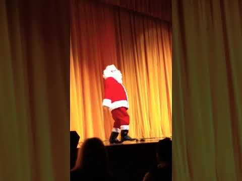 Whitmer High School Extravaganza Talent Show 2017 Santa dance