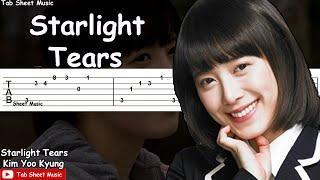 Boys Over Flowers - Starlight Tears Guitar Tutorial
