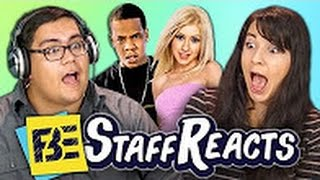 Staff Reacts Celebrity Impressions