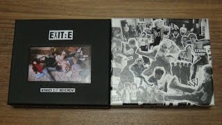Unboxing WINNER 위너 1st Mini Album EXIT : E (A & S Edition)