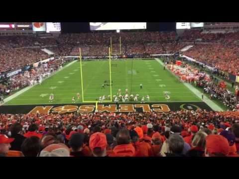 Insane video of Clemson winning the 2017 National Championship