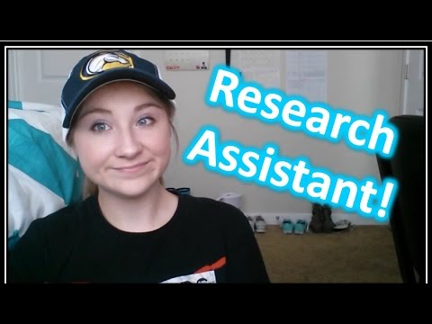 What Being a PSYCHOLOGY Research Assistant is Like! // COLLEGE