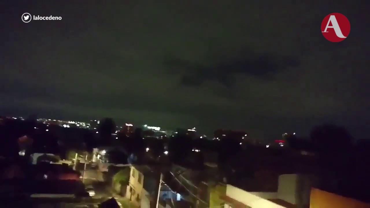 Por qu se vieron luces en el cielo tras terremoto en Mxico?