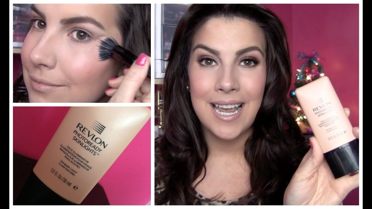 Revlon PhotoReady Skinlights Face Illuminator Review - YouTube