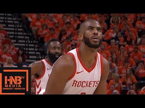 Houston Rockets vs Utah Jazz 1st Half Highlights / Game 3 ...