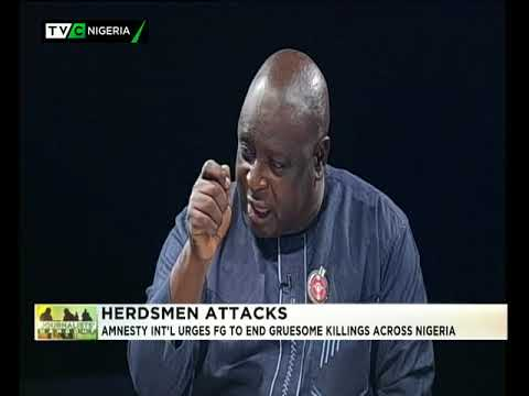 #JH 10th Jan 2018 | Amnesty Int'l wants FG to end cruelsome killings across Nigeria