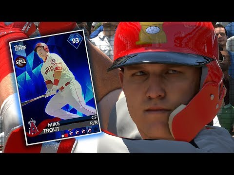 DIAMOND MIKE TROUT DEBUT!! MLB THE SHOW 18 DIAMOND DYNASTY