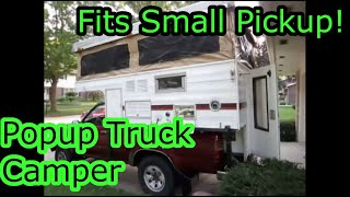 Truck Camper For Sale Video Tour