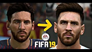 FIFA 19 Beta New update faces