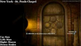 Assassin's Creed 3 - Boston and New York Underground - Magic Lantern Riddle Solutions - Guide - HD