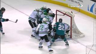 Dallas Stars vs  San Jose Sharks 04.02.2014