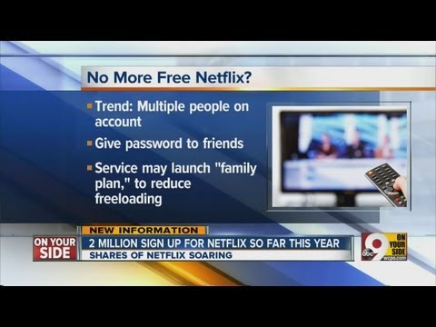 Netflix changing plans