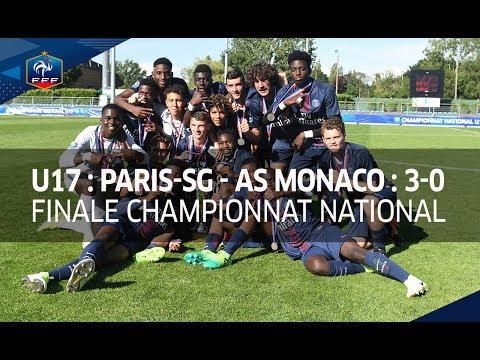 U17, finale : Paris-SG - AS Monaco 3-0