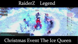 RaiderZ Legend Christmas Event The Ice Queen