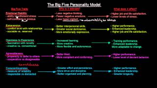 The Big Five Personality Model | Organisational Behavior | MeanThat