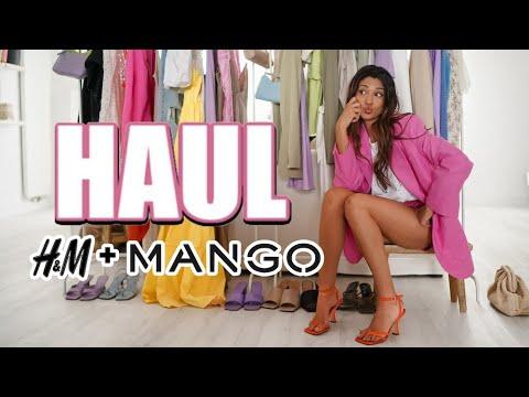 HAUL - TRY ON : MANGO + H&M 💜🛍